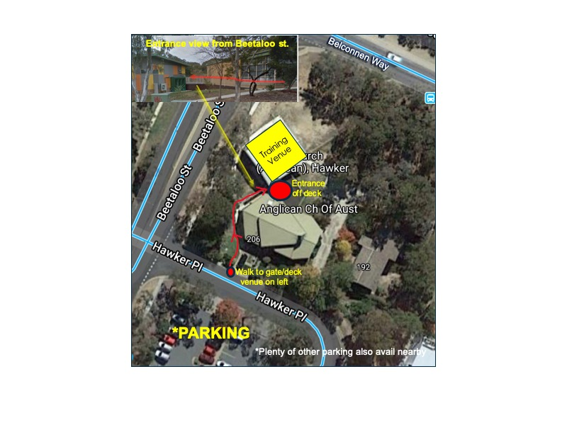Venue access and parking