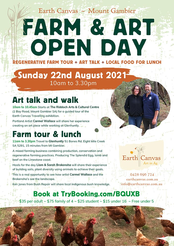 Mount Gambier Open Day on Farm and Art