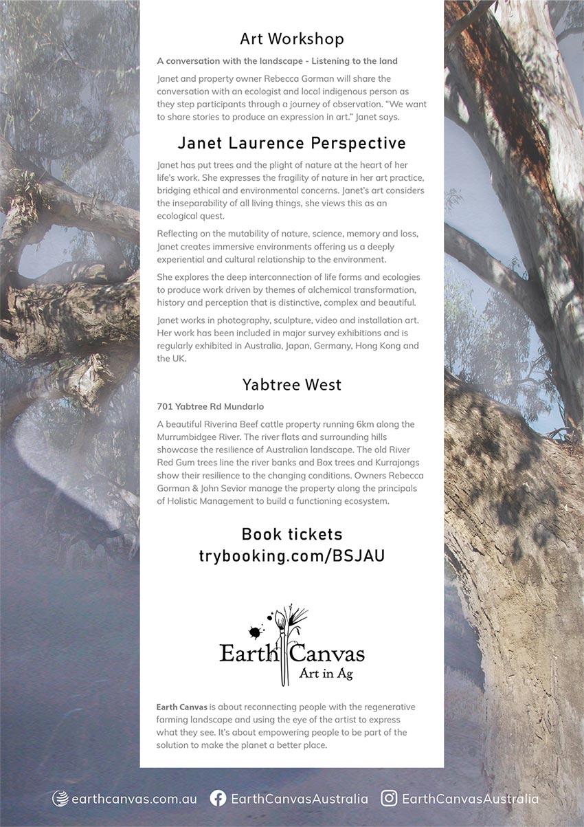 Janet Laurence Art Workshop