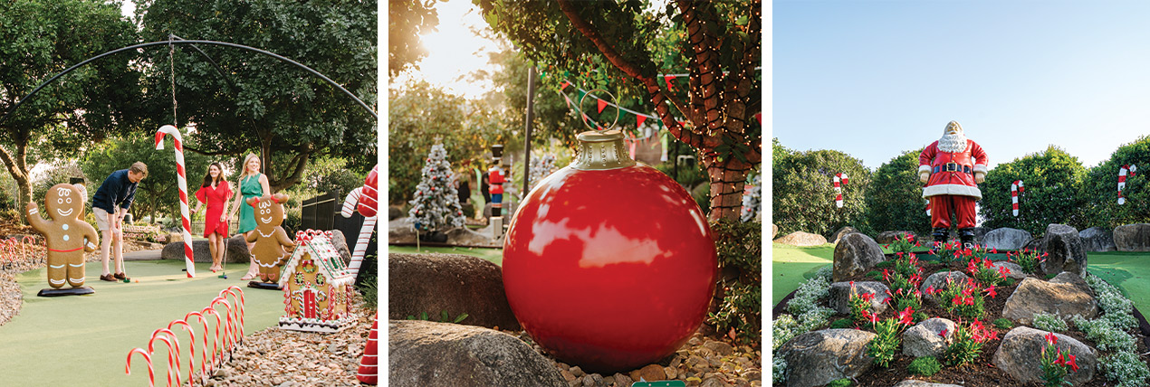 Christmas Putt Putt at Victoria Park